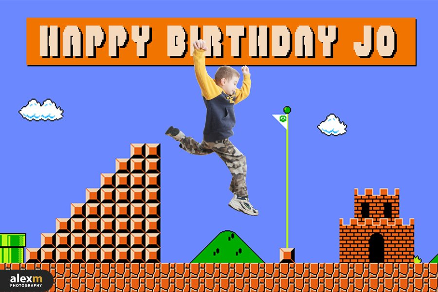 10068Jo's Super Mario Birthday