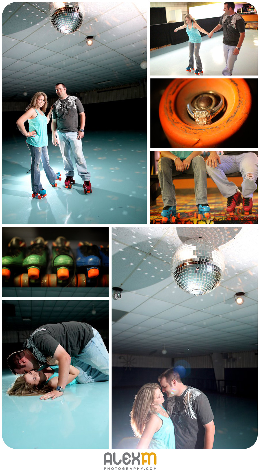 2254A Roller Skating Firefighting Love Story by AlexM