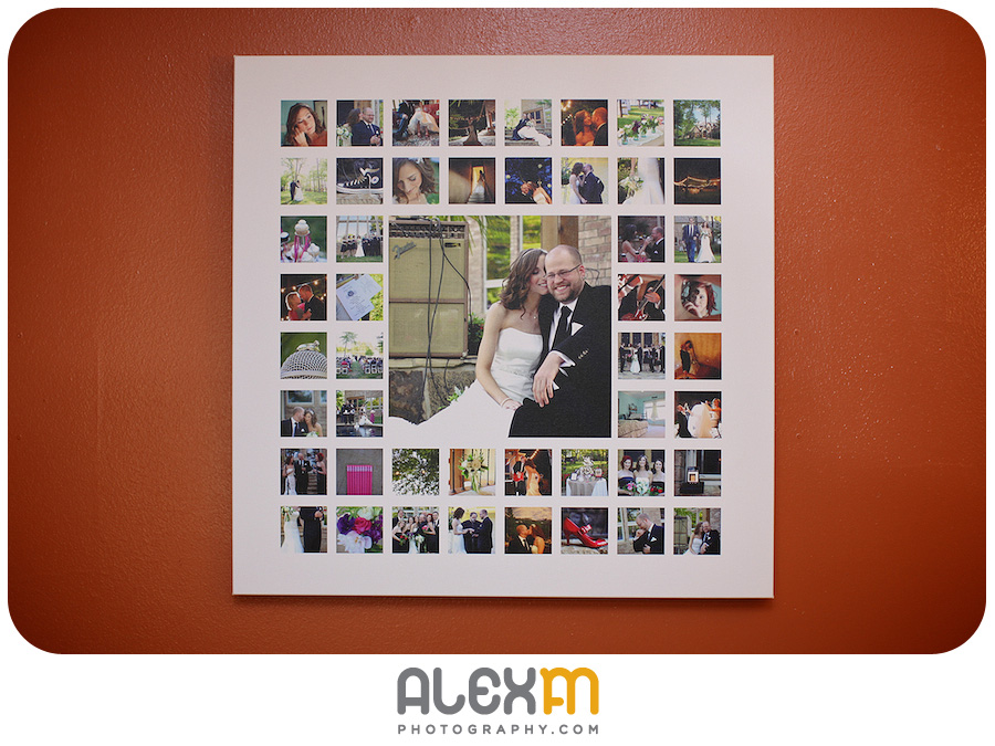 SuperSquare: A Wedding Album For Your Wall