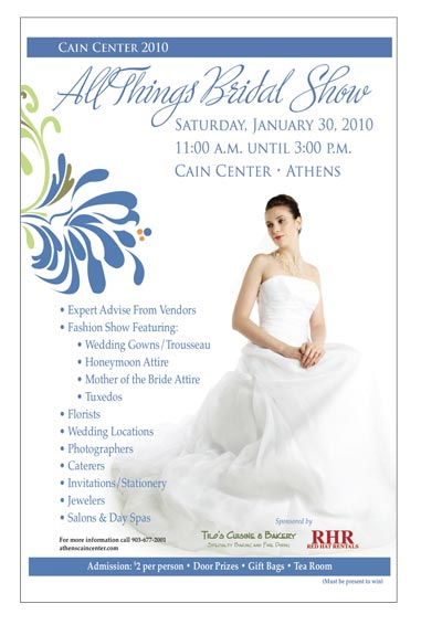 10175All Things Bridal Show | Athens Texas