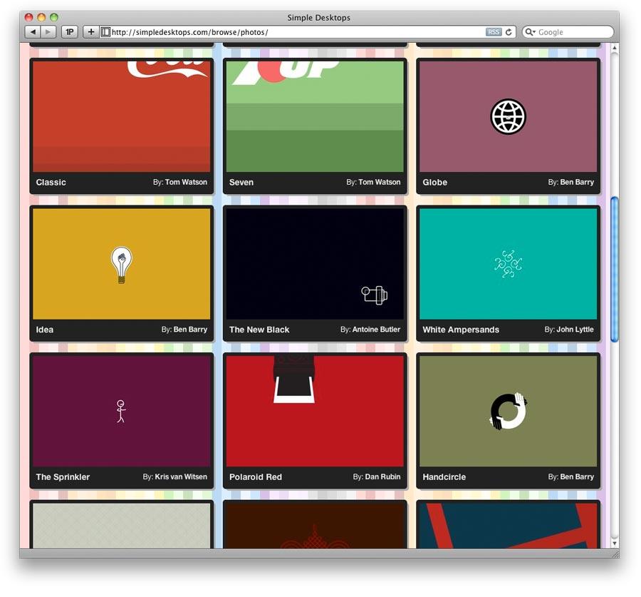 10177Simple Desktops