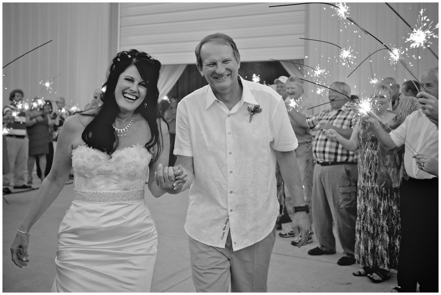 Kay + Wayman + Joe Nichols = Rockin' Wedding