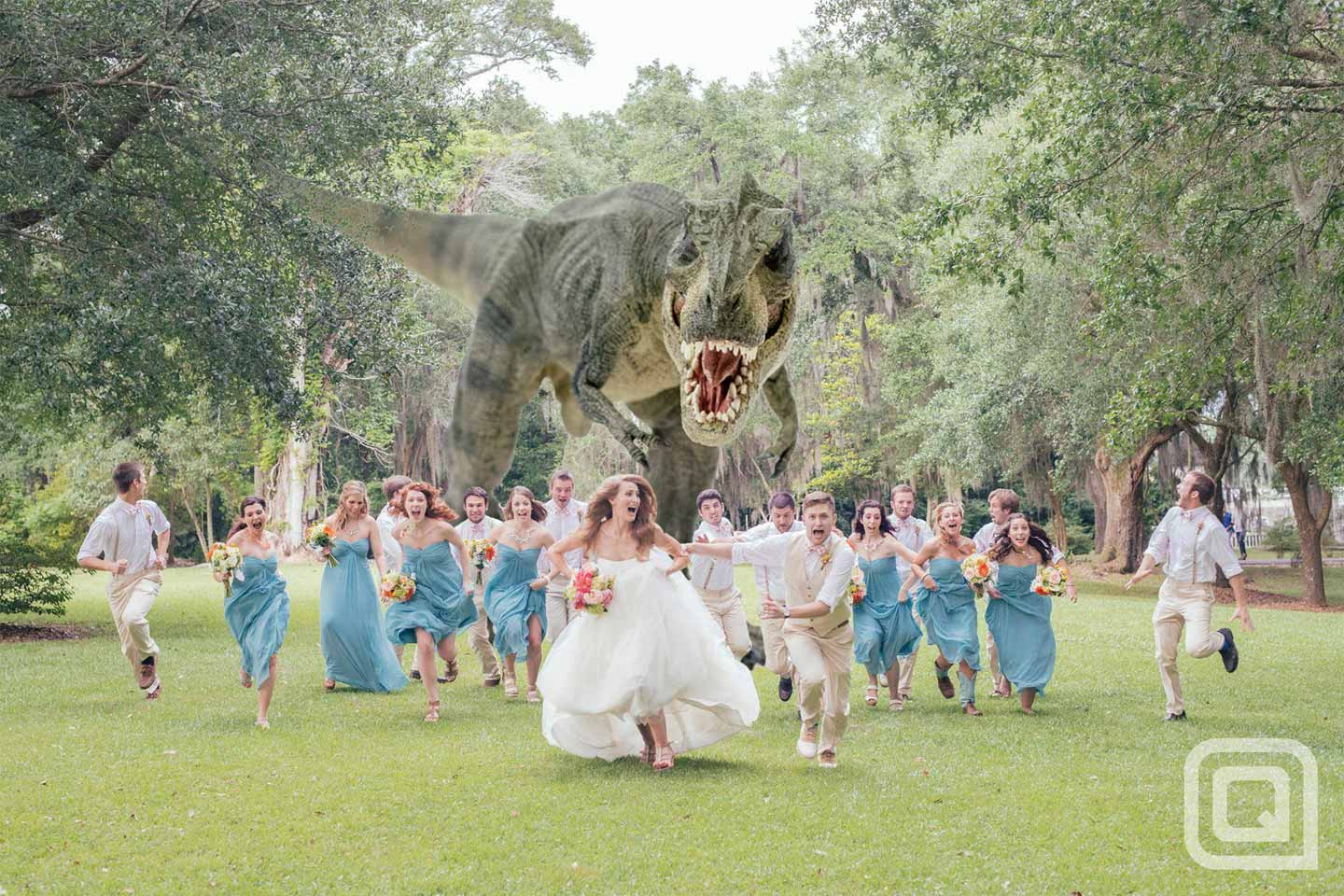 10450Dinosaurs Belong In Your Wedding (Maybe)