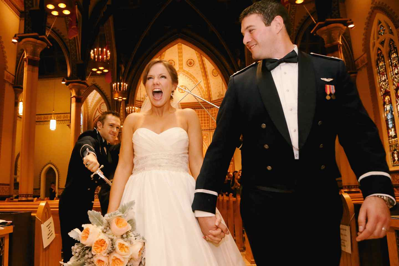 Meagan & Joe | Air Force Wedding