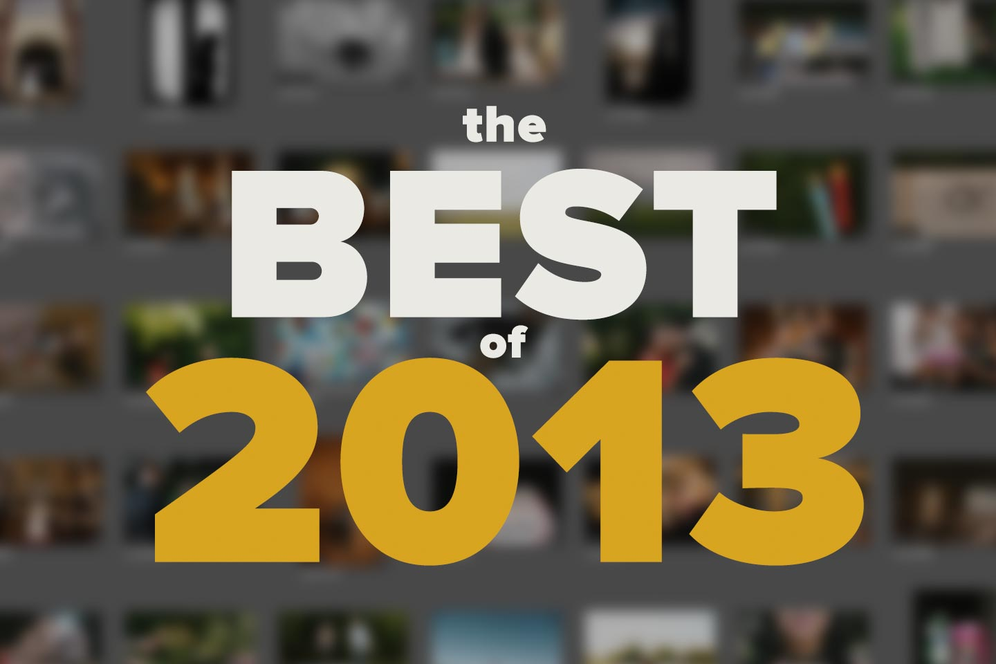top 10 2013 | the winners!