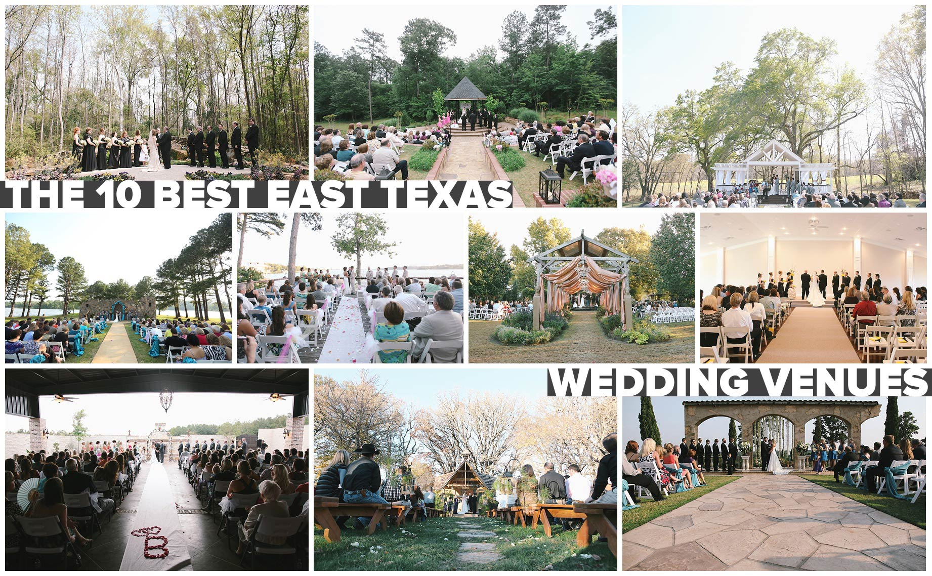 10 amazing places to get married in east texas alexm for Places to have receptions for weddings
