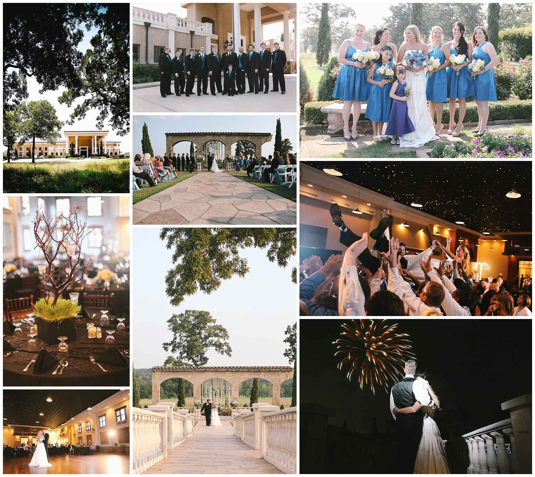 Top 10 East Texas Wedding Venues Villa Di
