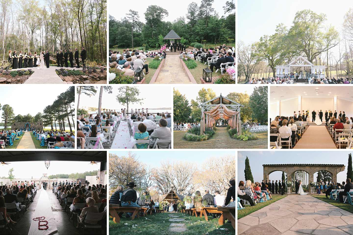 10 amazing places to get married in east texas alexm for Most amazing places to get married