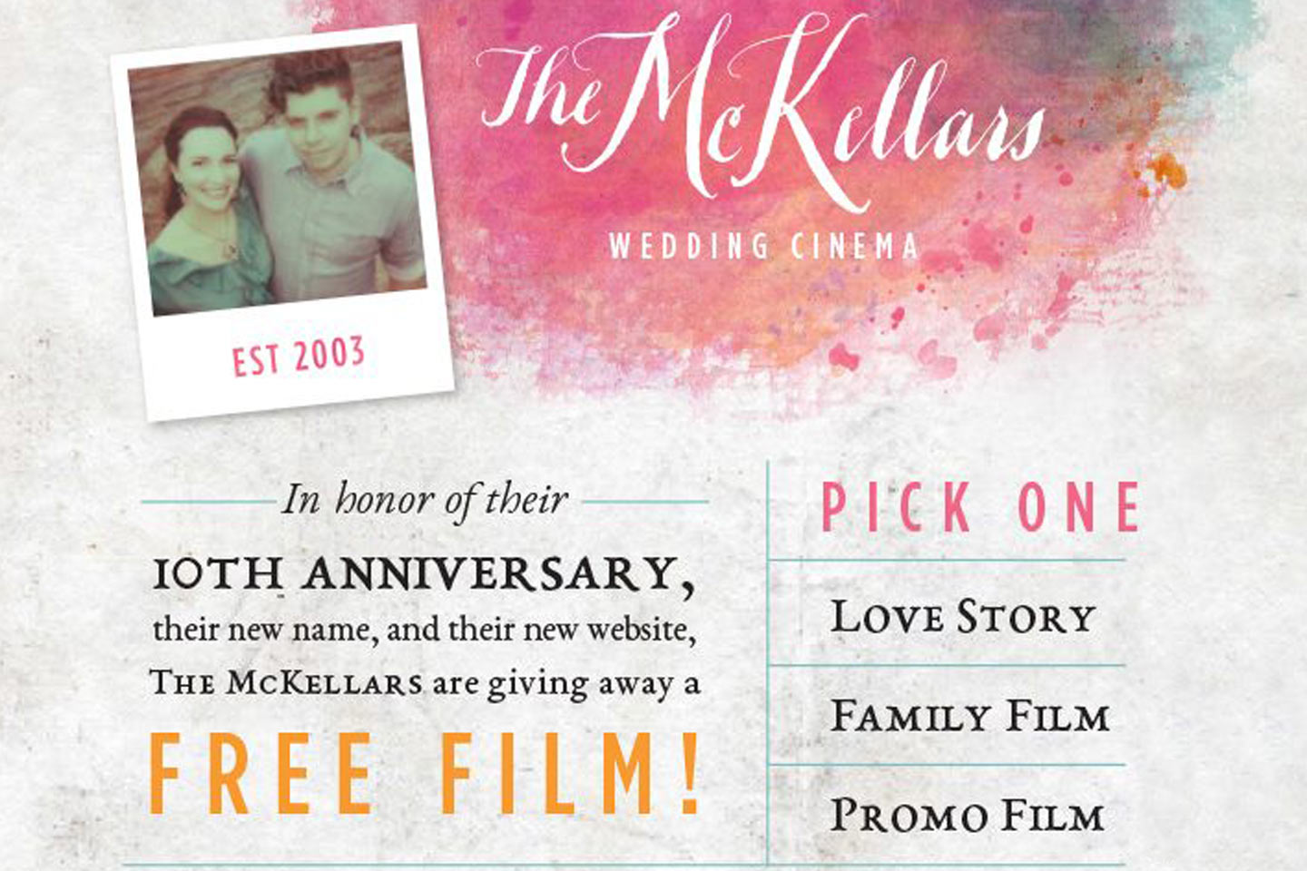 The McKellars Are Giving Stuff Away!!!
