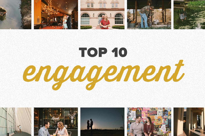 top 10 2015 | engagement photos