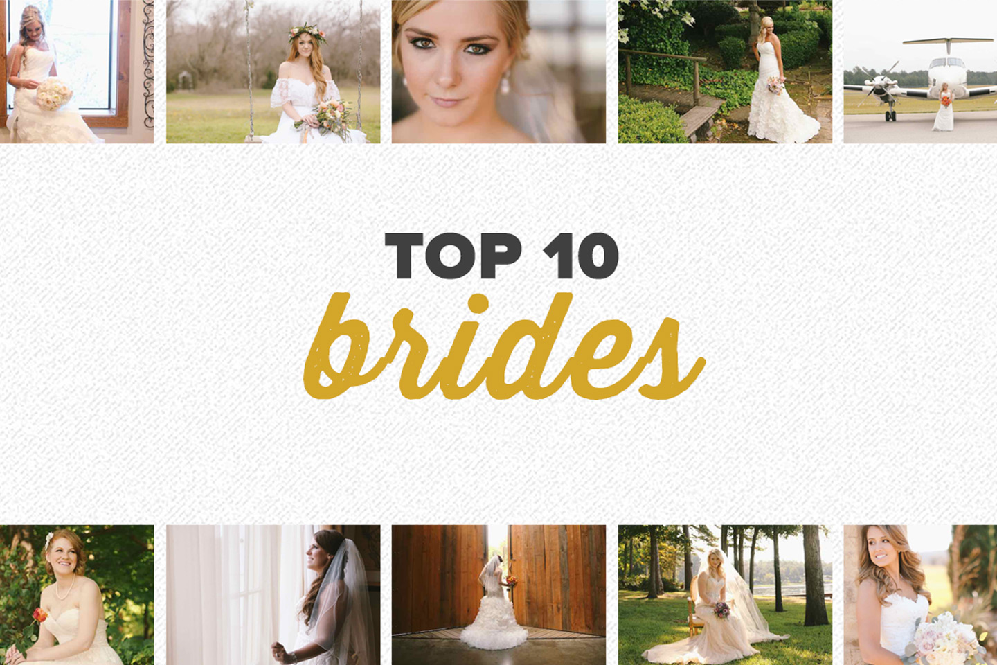 top 10 2015 | bridal photos