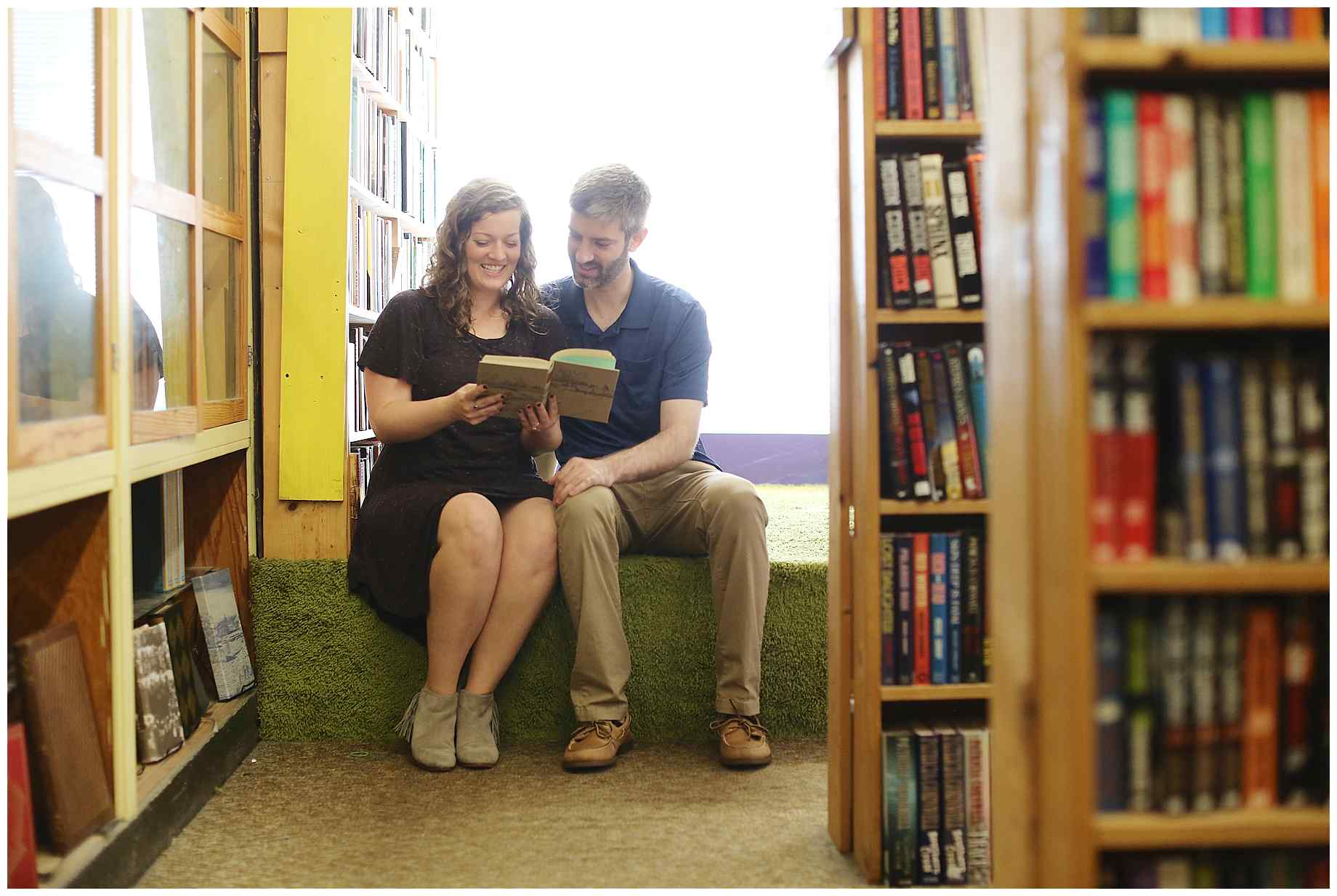 denton-bookstore-engagement-photography-005