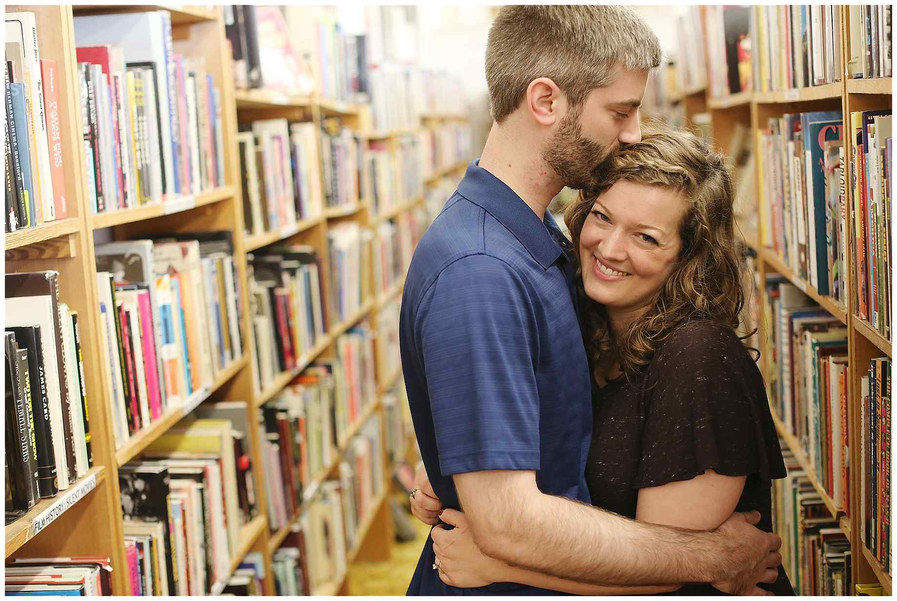 denton-bookstore-engagement-photography-007