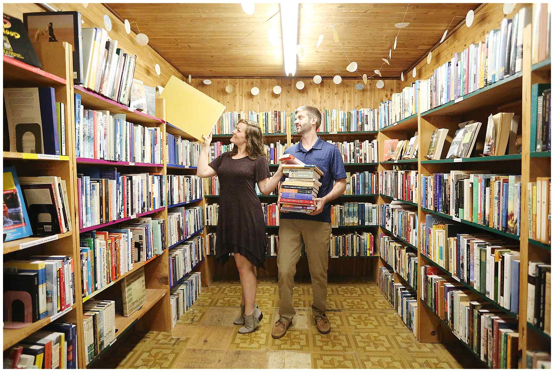 denton-bookstore-engagement-photography-009
