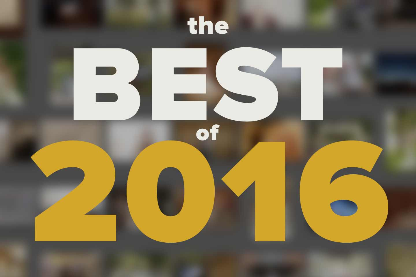 top 10 2016 | the winners!