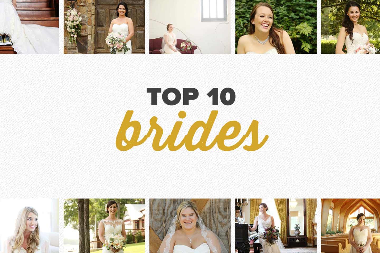 top 10 2016 | bridal photos
