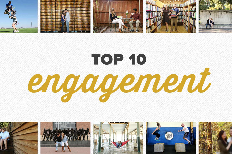top 10 2016 | engagement photos