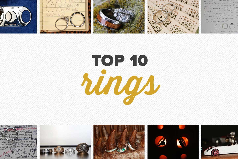 top 10 2016 | wedding ring photos