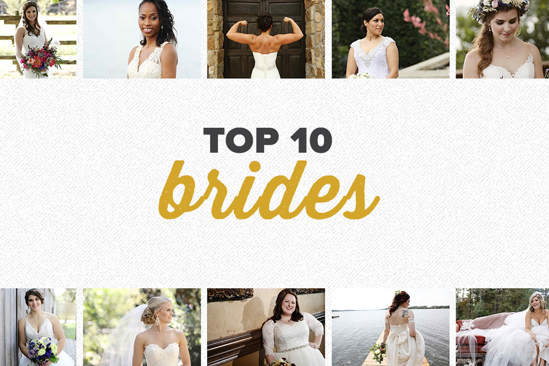 top 10 2017 | bridal photos