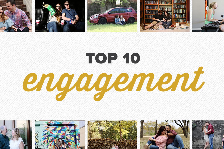 top 10 2017 | engagement photos