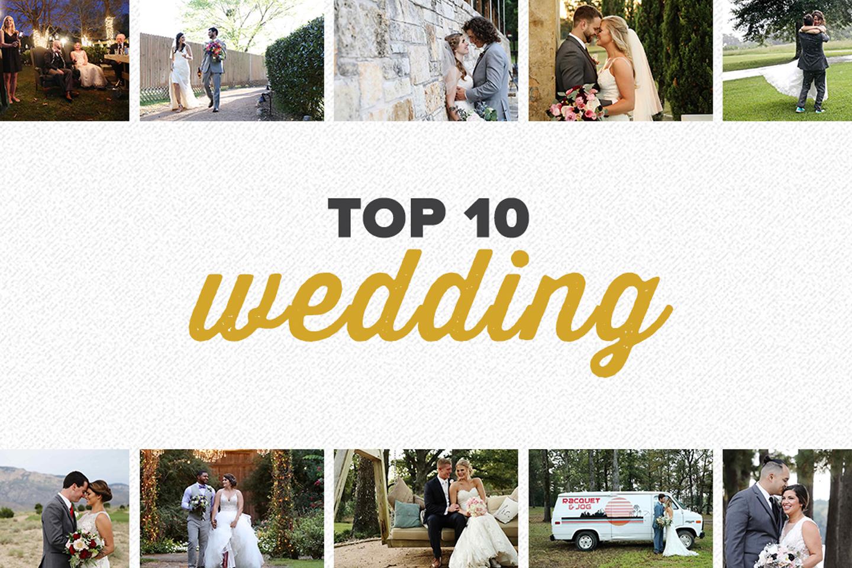 top 10 2017 | wedding