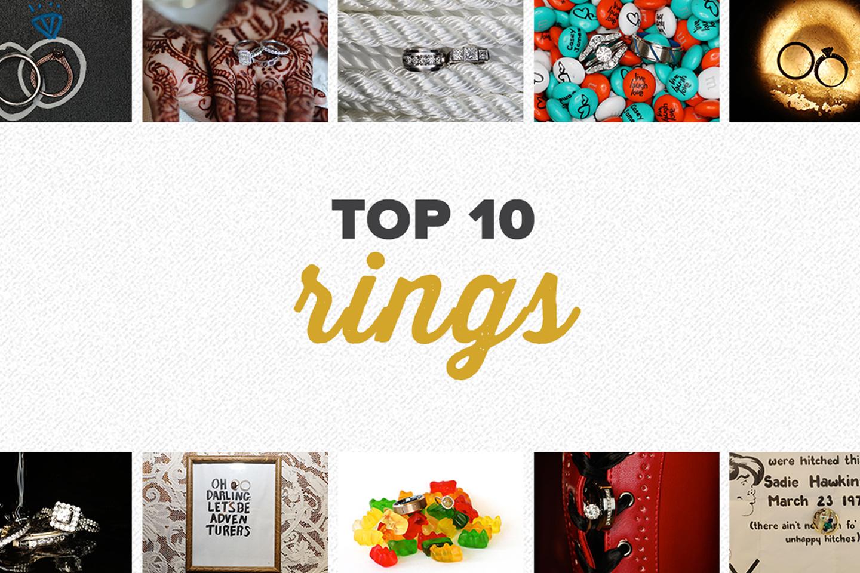 top 10 2017 | wedding ring photos
